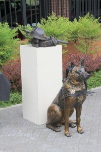 Bronze Duty Belt & Hat and Police K-9